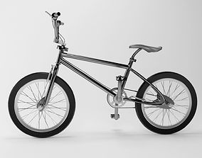 Bmx Bicycle 3D wheel