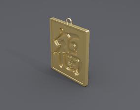 rgd fu pendant 2 3D printable model