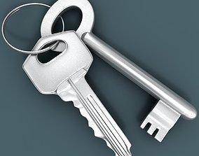 3D model Two Keys
