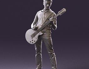 000967 guitarist 3D Print Ready