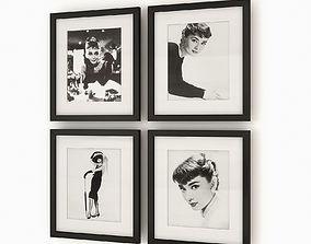 3D Eichholtz Ec070 Audrey Hepburn Prints