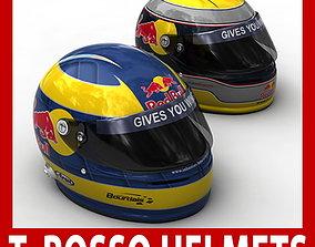 3D model Helmet F1 2009 Sebastien Buemi and Sebastien 1