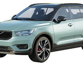 3D model Volvo XC40 - XC40 recharge 2020
