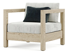 ARCA armchair 3D model PBR