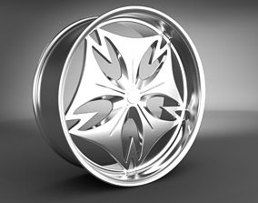 Wheel Rims 027 3D model