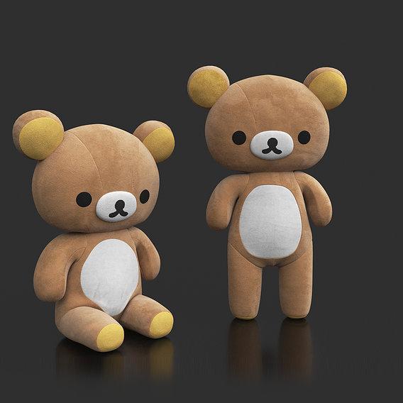 Rilakkuma Soft Toy CGI