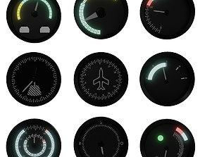 3D asset Tachometer