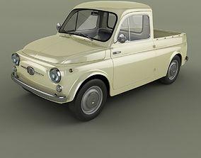 Fiat 500 Pickup 3D model