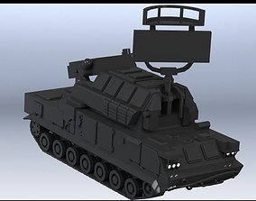 3D print model anti-aircraft missile complex TOR 2M