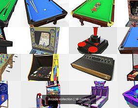 Arcade collection 3D model