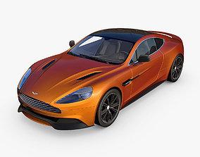 db7 Aston Martin Vanquish 3D
