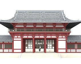 Todai-ji Temple Nara 3D model