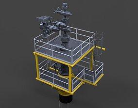 Well access platform 3D