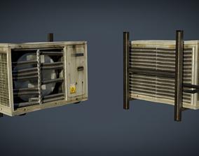 External air conditioner 3 3D model