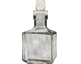 glass Carafe 3D model