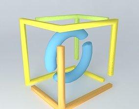 3D model symbol symbol