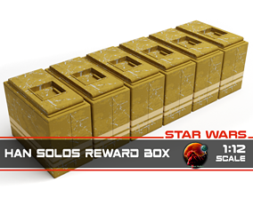 3D printable model Star Wars Han Solos Reward Box 1-12