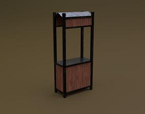 Trade stand 18 R 3D asset