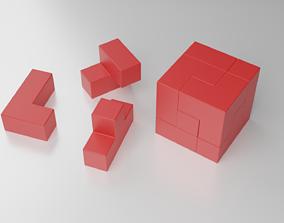 3D print model Logic Cube Puzzle