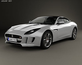 3D model Jaguar F-Type R coupe 2014