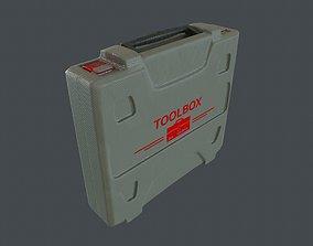 Plastic Tool Box 3D asset