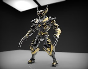 Battle Armor Wolverine Cosplay 3D print model