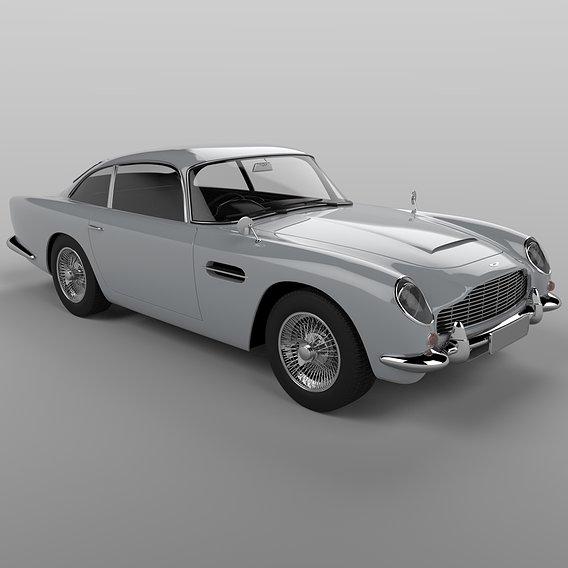 "Aston Martin ""James Bond"" DB5 from 1963"