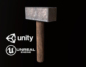 Mallet - PBR Game Ready 3D asset