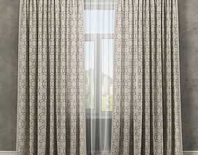 Curtains 3D satin