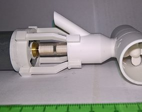 MJS 2002-21 Bow Thruster 21mm for scale model boats