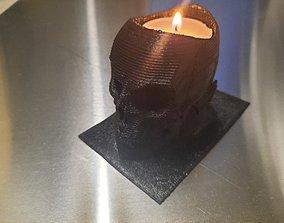 candle 3D print model Tealight holder