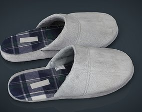 House slippers 2 3D asset