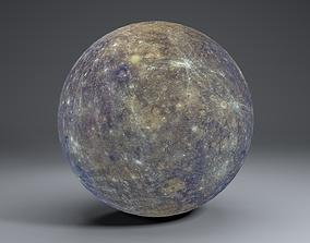 Mercury 4k Globe 3D
