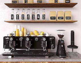 mug 3D Coffee set