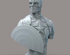 Captain America 3D print model