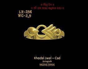 diamond-ring ladies ring 3D asset low-poly