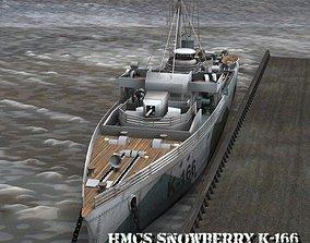 HMCS Snowberry for Poser 3D model