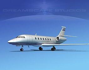 3D Dassault Falcon 2000 V03