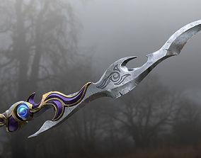 Fantasy Hero Sword 3D model PBR