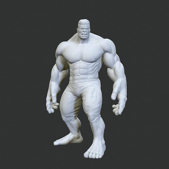 Hulk print model