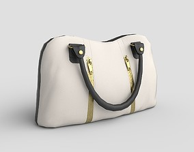 3D asset Low-poly Purse