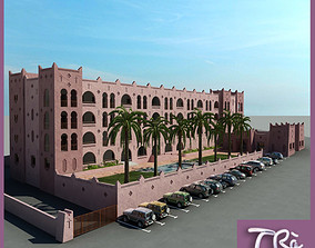 MOROCCO HOTEL 3D