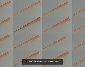 3D 25 Wooden Baseball Bat