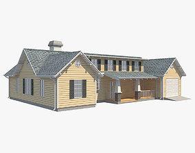 Family House 7 3D model