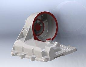 MERCEDES TRUCK OIL COOLER A 457 184 3D print model