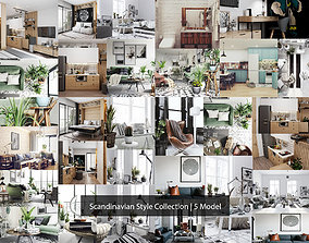 Scandinavian Style House Collection 3D