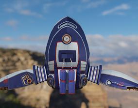 Jetpack Skypunk 3D model