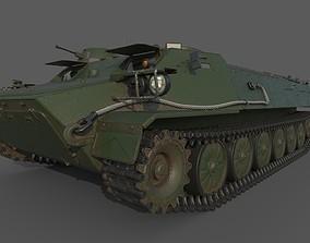 apc 3D model MT-LB