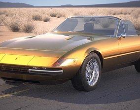Ferrari Daytona Spider 1968-1973 3D