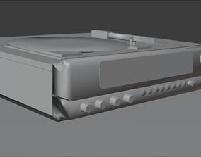 3D model VR / AR ready Stereo Laserdisc